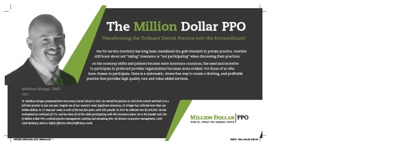 Are you CONCERNED with how PPO's are affecting your PRACTICE?